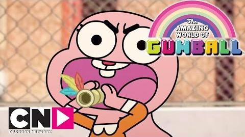La chasse aux amis Le Monde Incroyable de Gumball Cartoon Network