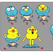 GB606ONE Costume Gumball HumorPoppingOut