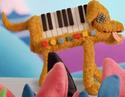Chien clavier