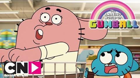 Premier arrivé Le Monde Incroyable de Gumball Cartoon Network