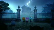 Halloween-Maison hantée 1