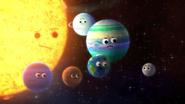 Les chansons-Planètes