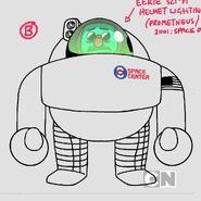 GB607VEGGING Character SpaceScientist V001