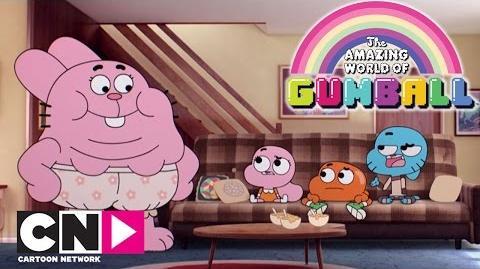 Recyclage de cadeaux Le Monde Incroyable de Gumball Cartoon Network