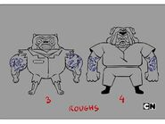 GB6XXCAGE Characters Criminals Rough