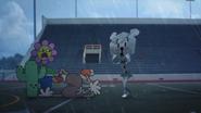 La fleur-Équipe de cheerleading