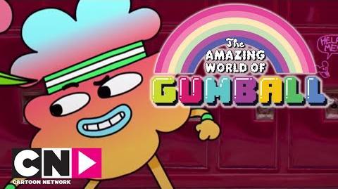 La claque de Tobias Le Monde Incroyable de Gumball Cartoon Network