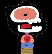 Gumball Internal Organs