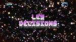 Les décisions