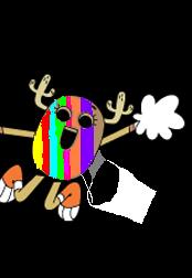 Rainbow penny