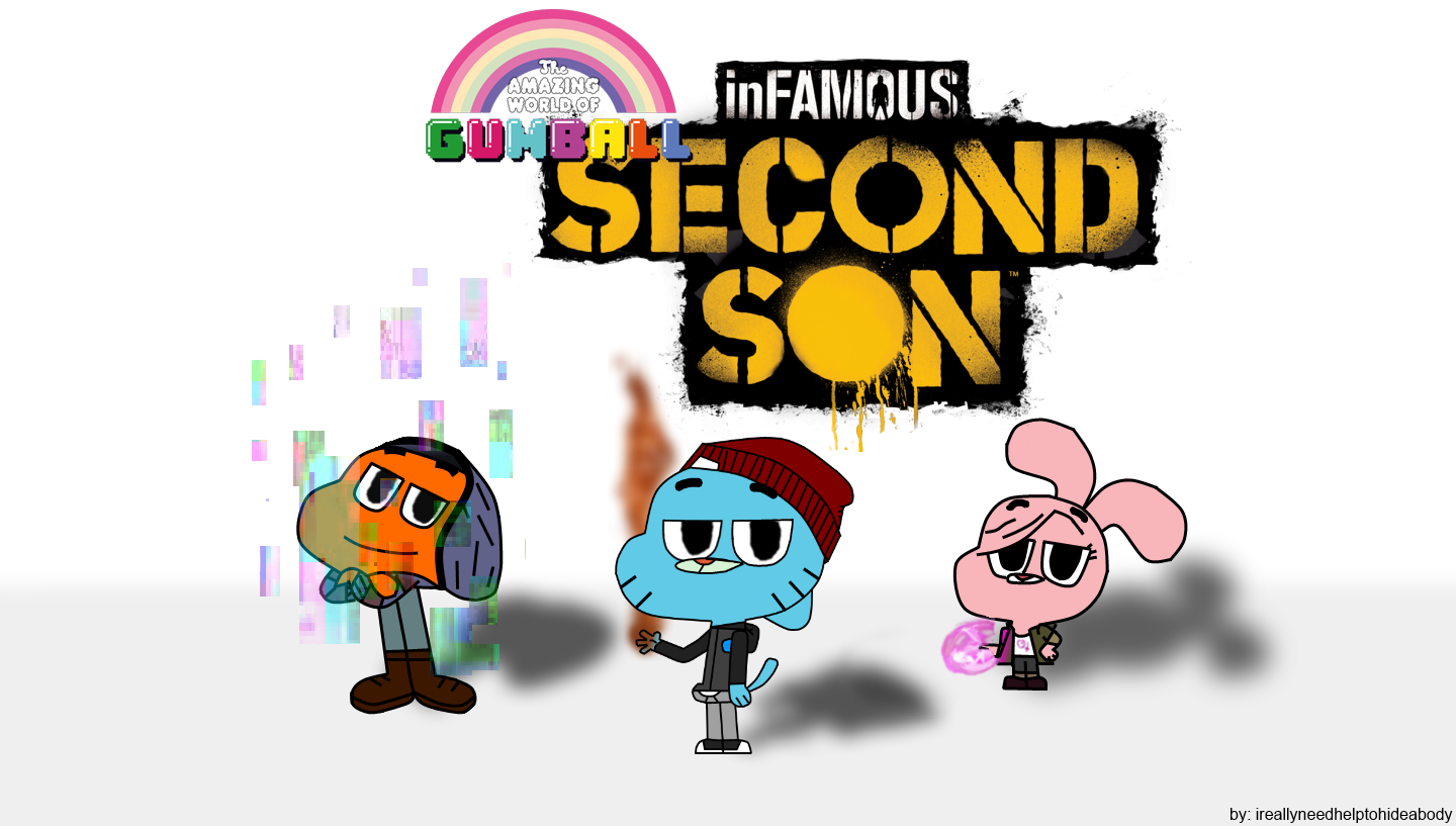 Infamous second son gumball wallpaper hd.png