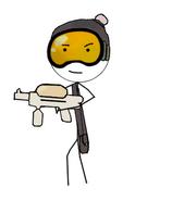 Sticky The Stickman (Armed)