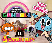 The Amazing World of Gumball Advertisement