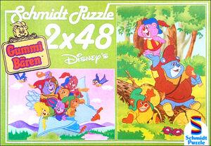 Disney's Gummi Bären - Unterwegs (Schmidt Puzzle)