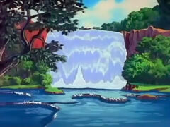 Gustos Wasserfall