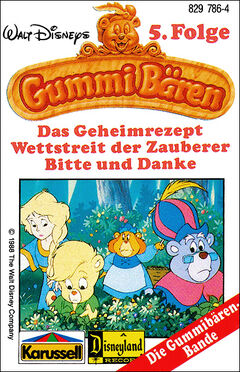 Walt Disneys Gummibären Cover 5