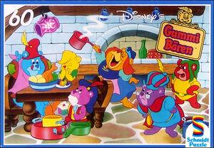 Disney's Gummi Bären - In der Bärenküche (Schmidt Puzzle)