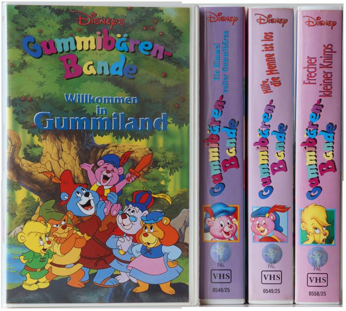 Dvd Gummibärenbande