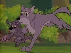 Wölfchens Mutter