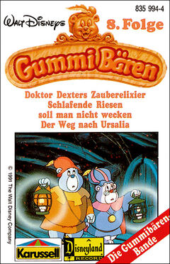 Walt Disneys Gummibären Cover 8