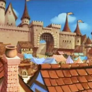 Marktviertel von Schloss Dunwyn