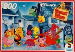 Disney's Gummi Bären - Monster in der Stadt (Schmidt Puzzle)