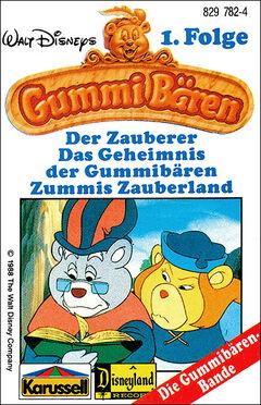 Walt Disneys Gummibären Cover 1