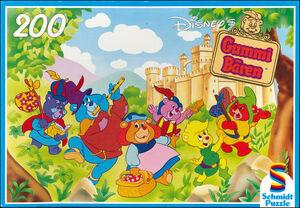 Disney's Gummi Bären - Tummi und seine Freunde (Schmidt Puzzle)