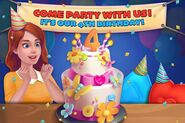 4th Birthday event