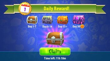 Daily Reward
