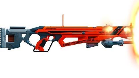 NERF ELITE ACCUSTRIKE RAPTORSTRIKE - Nerf Blaster Review!