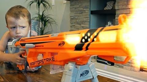 Nerf War-Nerf War - Gun BABY 9!