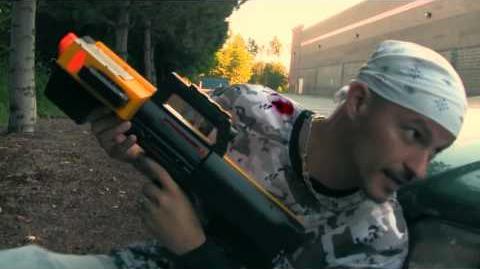 Insane Nerf War NRF Mortar Battle - NERF Guns