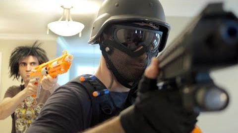 NERF WAR- SWAT TEAM