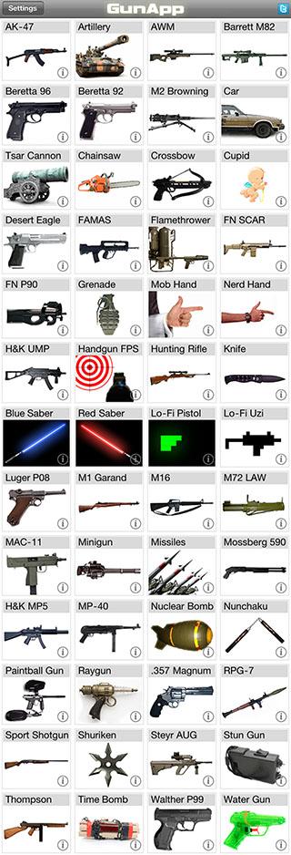 GunApp demoSmall