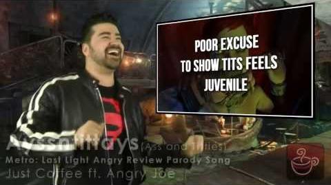 Just Coffee - Ayssntittays (Ass & Titties Parody ft. Angry Joe)-0