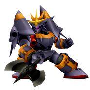 Gunbuster Super Robot Wars X-Ω3