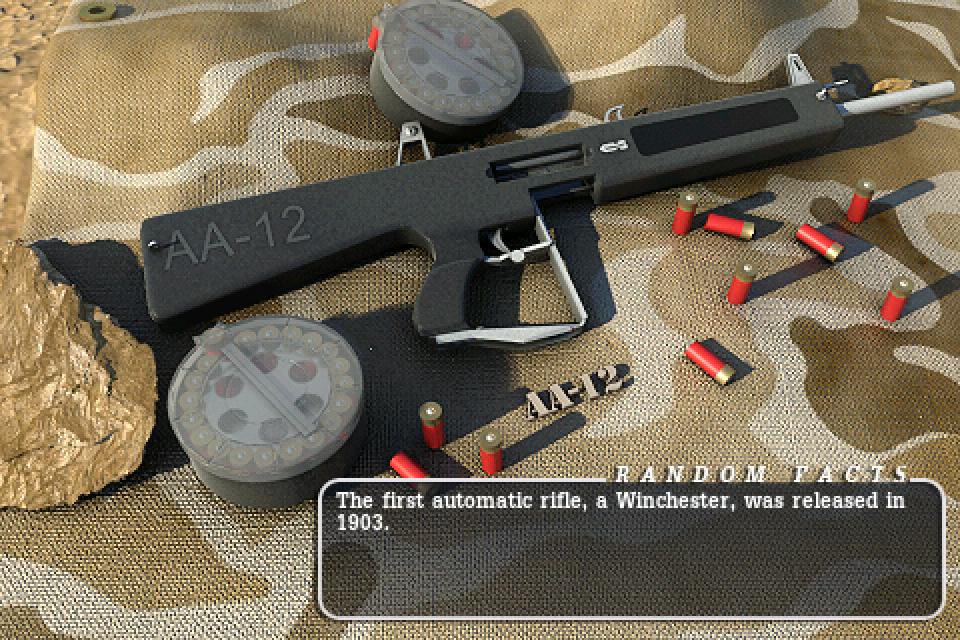 AA-12 Fully Automatic shotgun