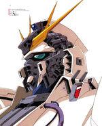 Nu Gundam Head Illust 1