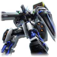 Gundam Diorama Front 3rd MBF-P03 Gundam Astray Blue Frame Full Weapon
