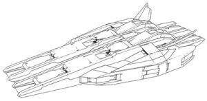 Kampfcontainer lineart