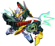SD Gundam G Generation Cross Rays Altron Gundam (EW Ver.)