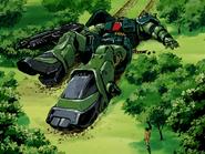 Zaku II Kai crashed