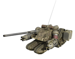 Front (Assault Gun Mode)