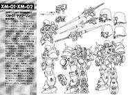XM-01 Den'an Zon Lineart