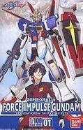 1-100 Force impulse Gundam