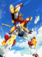 KMK-B01 Kamiki Burning Gundam (Island Wars) 18