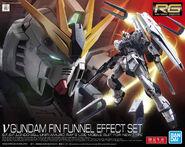 RG Nu Gundam Fin Funnel Effect Set