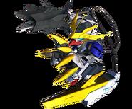 SD Gundam G Generation Cross Rays Barbatos Lupus Rex