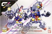 SDCS Gundam & Cross Silhouette Frame Set -GDHKIII LIMITED-